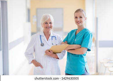 Doctor and nurse in hospital