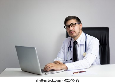 Doctor in Office or Hospital