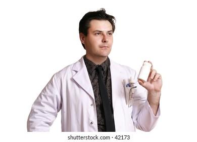 Doctor or pharmacist