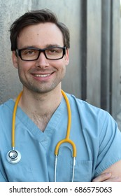 Doctor Portrait Smiling
