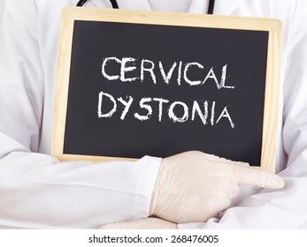 Dystonia Images, Stock Photos & Vectors | Shutterstock