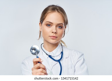 doctor with stethoscope medicine