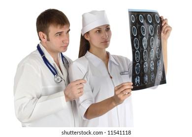 doctor studies picture