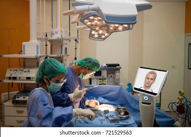 Remote Surgery Images, Stock Photos & Vectors | Shutterstock