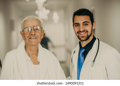 the doctor takes the patient on holidays from the nursing home