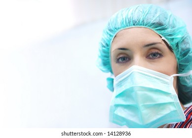 doctor team in surgery room