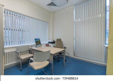 Doctor's office interior