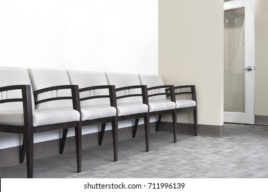 doctors office waiting and seating area