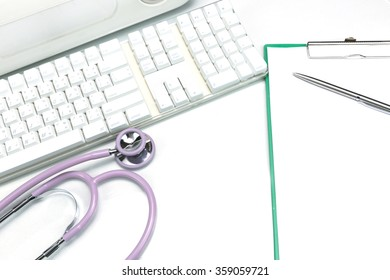 doctor's workplace