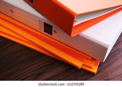 Document file colorful