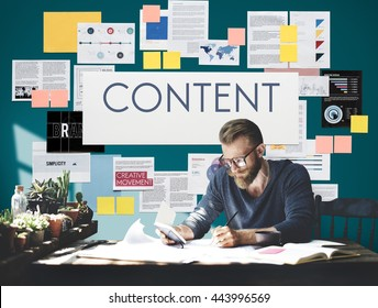 Document Marketing Strategy Business Concept