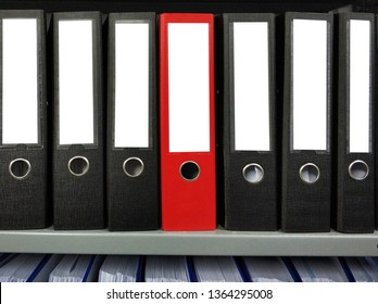 Documents folder in shelf with clipping path