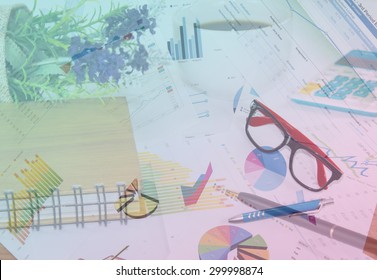 documents and pen and book  on table.business concept