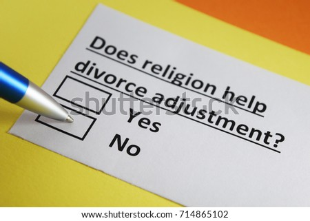 Divorce yes or no