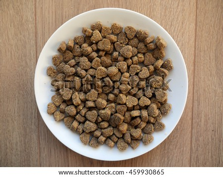 Dog Food Plate Royal Pedigree Hearts Stock Photo Edit Now
