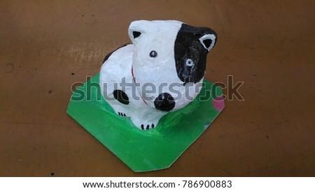 Dog Paper Ma Che