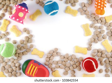 Dog Toys and Food
