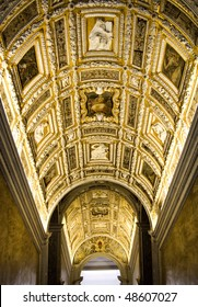 Doge palace interior (staircase), Venice