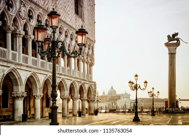 The Doges Palace in Venice's St. Mark's Square