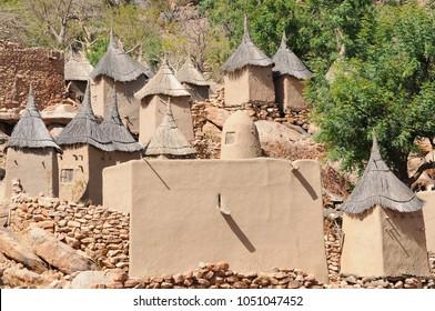 Dogon village of Ireli in Mali
