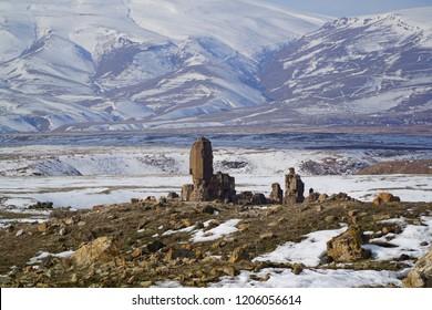 Dogu Anadolu, Ani Harabeleri. Ani Ruins, Kars, Turkey