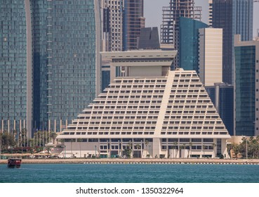 Doha City Center, Qatar - 24th March 2019 : Sheraton Hotel Westbay Qatar