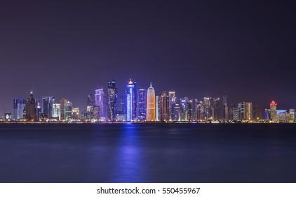 Doha lights