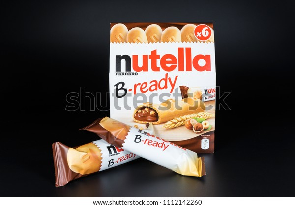 Doha Qatar June 13 2018 Nutella Stock Photo (Edit Now) 1112142260
