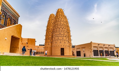 Doha, Qatar / Middle East -  05/05/2019. Birdhouse in Katara Cultural Village Doha.
