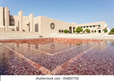 DOHA, QATAR - NOV 20: Texas A&M University at the Education City Doha. November 20, 2015 in Doha, Qatar, Middle East