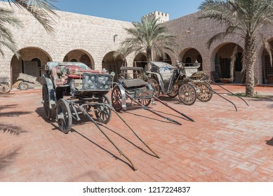 DOHA, QATAR - OCTOBER 31, 2018: Sheikh Faisal Bin Qassim Al Thani Museum is a privately owned museum located in the municipality of Al Rayyan in Qatar.