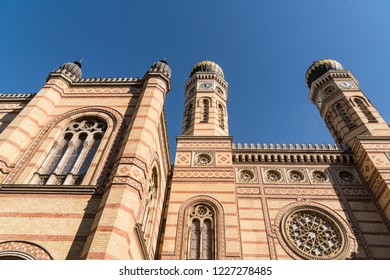 Dohany Street Synagogue in Budapest is  the largest Jewish Synagogue in Europe.