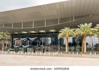 Doha,Qatar on 27th Feb 2018: 2018: The Doha Exhibition & Convention Centre (DECC) is of the largest and most technologically advanced convention venues in the Middle East.