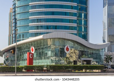 Doha,Qatar on 3rd Mar 2018:Vodafone Qatar provides a range of services including voice, messaging, data and fixed communications in the Gulf State of Qatar. Commercial operations started in  2009