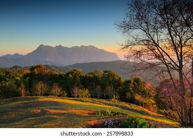 Doi Luang Chiang Dao mountain,Chiang Mai,Thailand