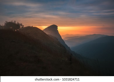Doi Mon Jong the beautiful mountain Chiang Mai Thailand