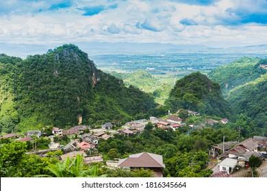 Doi Pha Mee Village in Maesai Chiangrai, Thailand