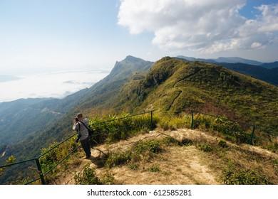 Doi pha tang mountain at Chiangrai, Thailand