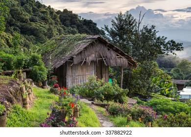 Doi Pui Mong Hill Tribe Village, Chiang Mai, Northern Thailand