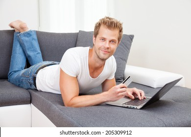 Doing the online shopping from the comfort of your home
