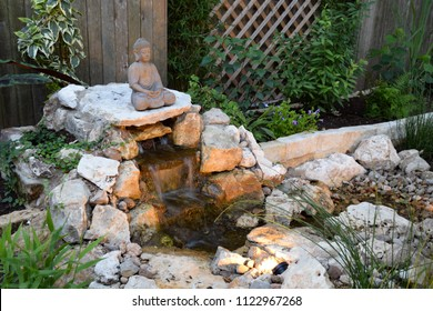 Zen stones images stock photos vectors shutterstock a do it yourself backyard zen garden with waterfall and disappearing stream solutioingenieria