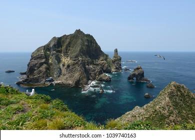 dokdo island in south korea.