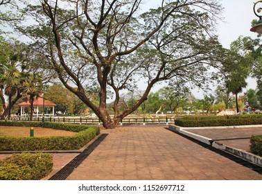 Dokmaideng Playland in Vientiane. Laos