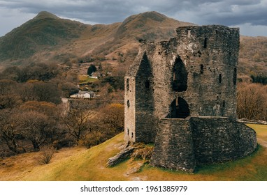The Dolbadarn Castle in Llanberis, North Wales