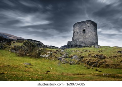 Dolbadarn castle in North Wales
