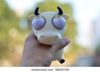 Doll cow - Shutterstock ID 580107190