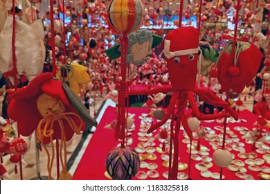 Doll decoration on Girl's day, Japan