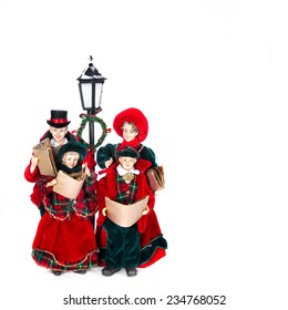 Christmas Carol Singers Ornaments.Christmas Carol Singers Images Stock Photos Vectors