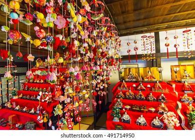Doll Festival in Kanagawa, Japan.