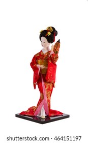 Фотообои doll Japanese woman in traditional clothes
